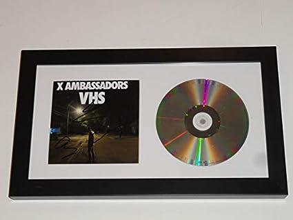 X AMBASSADORS SIGNED FRAMED
