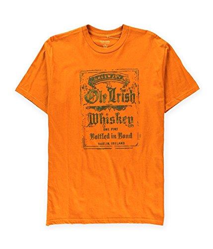 SONOMA life+style Mens Green Ivy Ole Irish Whiskey Graphic T-Shirt texasorng XL ()