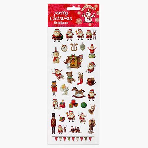 Fun Stickers Christmas Vintage Toys 1007
