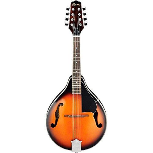 (Ibanez M510BS A-Style Mandolin, Brown Sunburst)