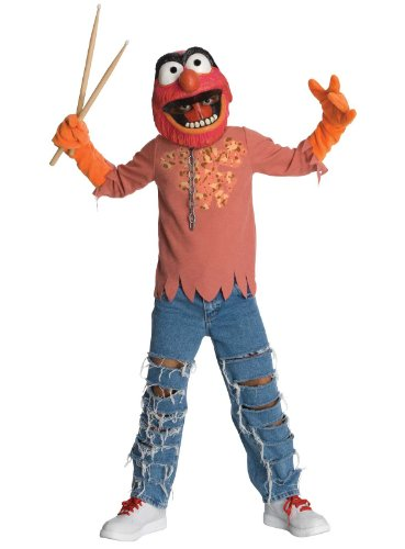 Muppets Animal Costume (Rubies Costumes The Muppets Animal Child Costume Red Medium (8-10))