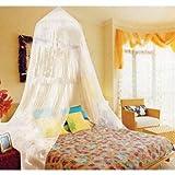 Hallmart Kids Netting Canopy -  White