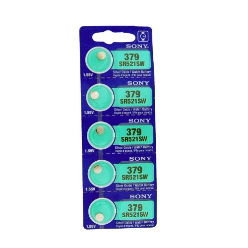 379 Silver Oxide Watch Battery - 7