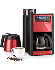 Klarstein Aromatica II Duo Macchina da Caffè con Macinacaffè