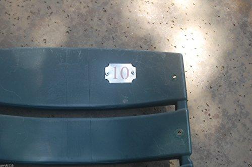 TEXAS RANGERS #10 Seatback Sundberg Young BALLPARK ARLINGTON Stadium Chair Back