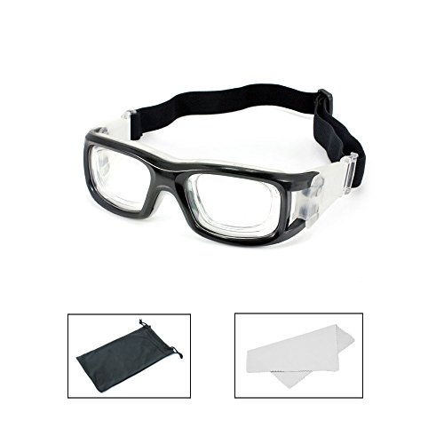 3f490151f1ed TEKCAM Unisex Sports Goggles Safety Protective Eyewear with Adjustable  Straps for Basketball Volleyball Football