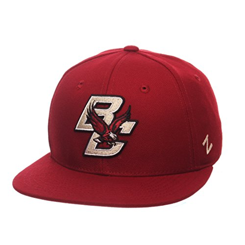 Zephyr NCAA Boston College Eagles Men's M15 Fitted Hat, 7_5/8, Cardinal