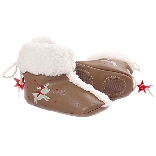 Fire Frog Anti-slip Shoes - Patucos para niño marrón