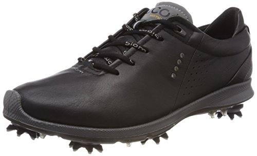 Gore Tex Golf - ECCO Men's Biom G2 Free Gore-Tex Golf Shoe, Black Transparent, 8 M US