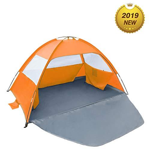 Sun shade Beach Umbrella Outdoor Sun Shelter Cabana Pop-Up UV50 3-4 people