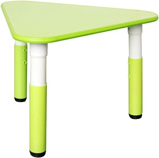 WFENG Mesa y sillas de plástico de altura ajustable para niños ...