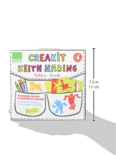 Vilac Keith Haring Stencils Set by Vilac (Image #3)