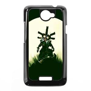 HTC One X Cell Phone Case Black The Legend of Zelda Majora's Mask VIU001927