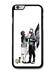 Banksy Punk Mum Street Art case for iPhone 6 Plus