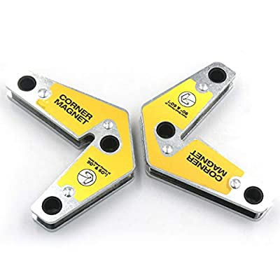 50lb Strength Strong Welding Magnetic Holder Corner Welding Magnet pack of 2
