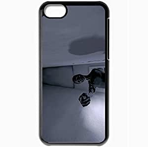 Personalized iPhone 5C Cell phone Case/Cover Skin Alice Surrealism Horror Corpse Hospital Nuthouse Black