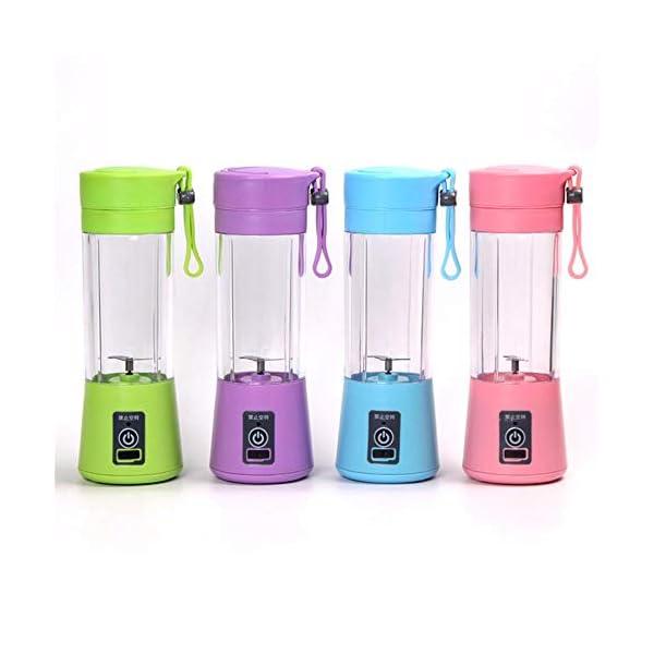 LILI Mano frullatore Portatile Blender USB Ricarica Moda Piccolo Mini spremiagrumi estrattore Domestico frullatore di… 6 spesavip
