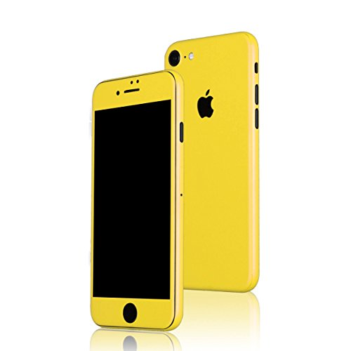 AppSkins Folien-Set iPhone 7 Full Cover - Color Edition yellow