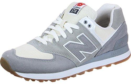 Nuovo Equilibrio Herren Ml574 Sneaker Visone Acciaio-argento (ml574rsa)