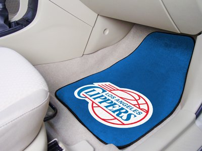 NBA - Los Angeles Clippers 2-piece Carpeted Car Mats ()