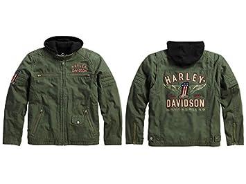 Harley-Davidson largo camino 3 en 1 chaqueta: Amazon.es ...