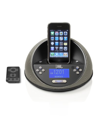 JBL On Time Micro Speaker System for iPod (Black) (6w Ipod Docking)