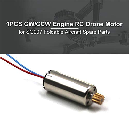 Kurphy 1PCS CW//CCW Engine RC Drone Motor for SG907 Foldable Aircraft Helicopter Accessories UAV Spare Parts Component