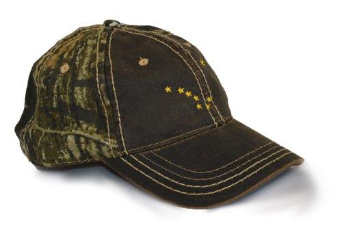 Alaska State Flag Camo Baseball Hat | Camouflage Alaskan Golf Cap