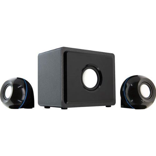 Gpx - ht12b - gpx ht12b black home theater system 2.1channel wit by GPX