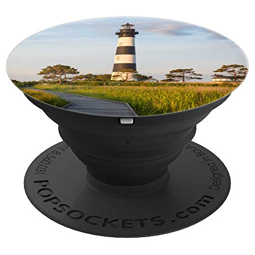 Lighthouse Bodie - Bodie Island Lighthouse Outer Banks Phone Grip - PopSockets Grip and Stand for Phones and Tablets