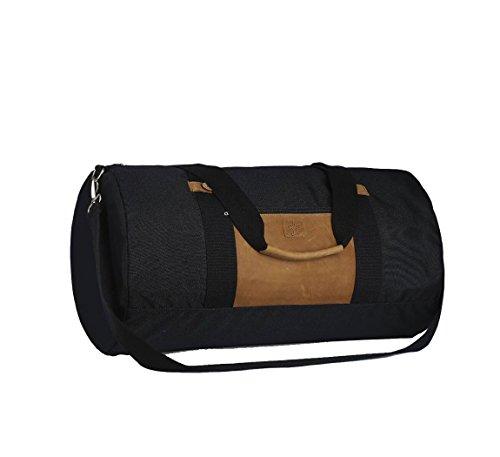 Faguo - Bolsa de viaje de Material Sintético navy-leather-f1750