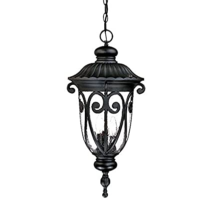 Acclaim 2126BK Naples Collection 3-Light Outdoor Light Fixture ...