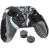 WIAR - Funda Control Xbox Series X y S Camuflaje + Grips Incluidos | Funda Carcasa Protector de Silicón Antideslizante…