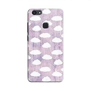 Cover It Up - Cloud Purple Sky V7 Plus Hard Case