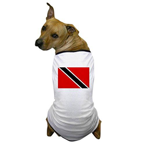 Soca Carnival Costumes (CafePress - Trinidad and Tobago Flag Dog T-Shirt - Dog T-Shirt, Pet Clothing, Funny Dog Costume)