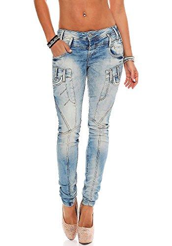 Cipo & Baxx -  Jeans  - Attillata  - Donna blu chiaro W28