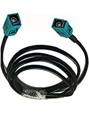 Ruiting Store 10 m 5m 3m 1m fakra z vrouw naar fakra z vrouw LMR195 RF Connector Coax Coaxiale kabel 50ohm 15m 20m 25m 30m (Color : 10m)