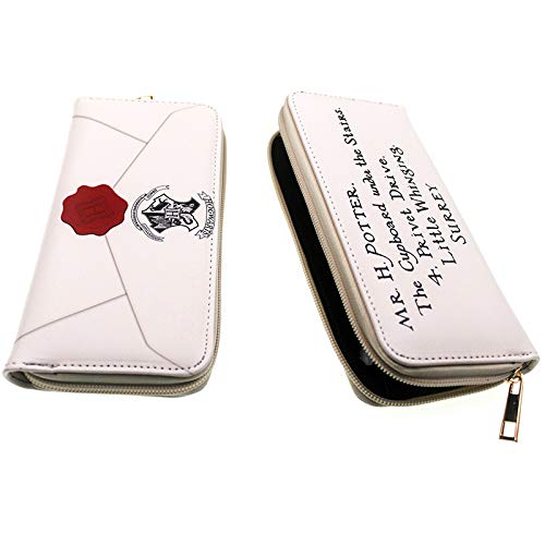 Monedero y tarjeta de Harry Potter con cremallera alrededor ...