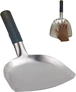 Butterroll Metal Spatula Food Shovel Griddle Spatula Food Mover Stainless Steel-Stir Fry and Move Food