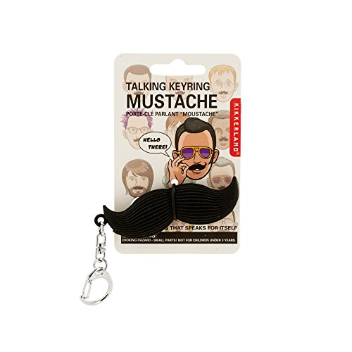 123-Wholesale - Set of 48 Talking Mustache Keychain - Key Chains Novelty Key Chains for $<!--$36.00-->