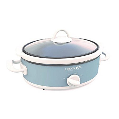 Crockpot Mini Casserole Crock Slow Cooker, 2.5 quart (Gray)