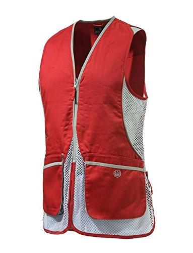 グリース入学する排除するBerettaレディースシルバーPigeon Shooting Vest