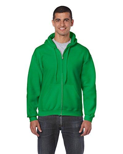 Gildan 18600 – Classic Fit Adult Full Zip Hooded Sweatshirt Heavy Blend – First Quality – Royal – 5X-Large
