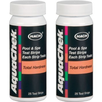 2-Pack AquaChek Total Hardness Test Strips for Pool & Spa Water - (Pool Water Calcium)