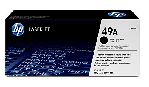 (HP 49A (Q5949A) Black Toner Cartridge for HP LaserJet 1160 1320)