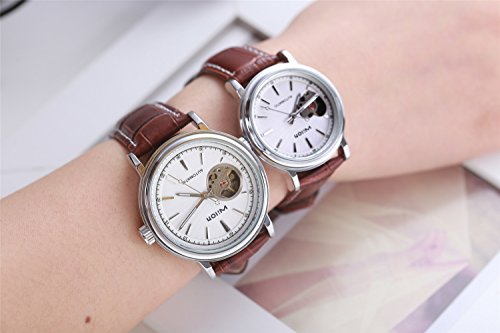 Price comparison product image Generic Republic Korea_high-end_couples_ Belt _full_automatic_ watch
