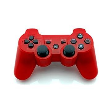 """Estructura en vibración mando inalámbrico Bluetooth para PS3 consola roja: modelo 2 """""""
