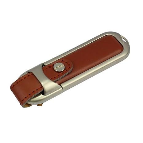Llavero Cuero 16 GB - Memoria Almacenamiento de Datos ...