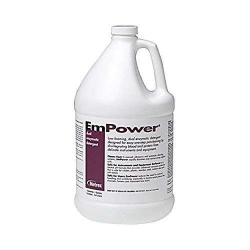 Metrex MET 10-4150 Empower Dual Enzymatic Detergent, 5 Gallon