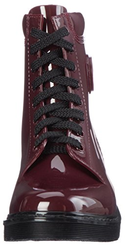 Red Stivale Boots Combat Burgundy Armani Women's Jeans XqwESITn4